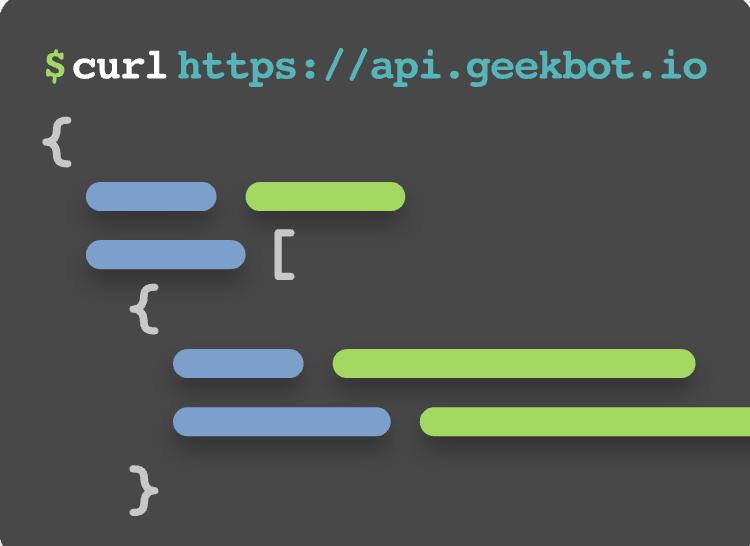 $curl https://api.geekbot.com