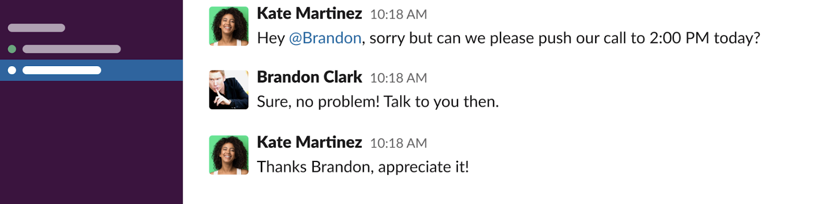 Geekbot and Slack allow for clients and coaches to easily connect and communicate.