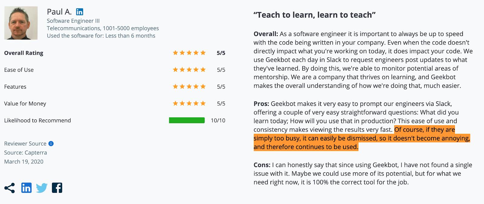 """""""Teach to learn, learn to teach"""""""