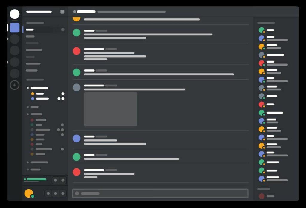 discord interface