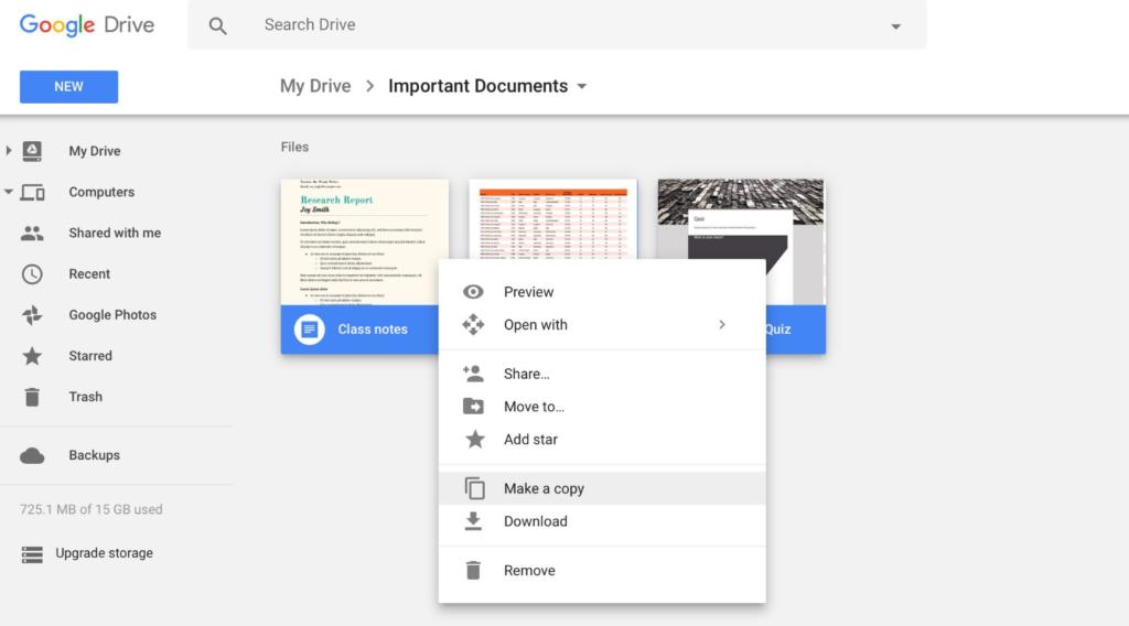 google-drive-interface