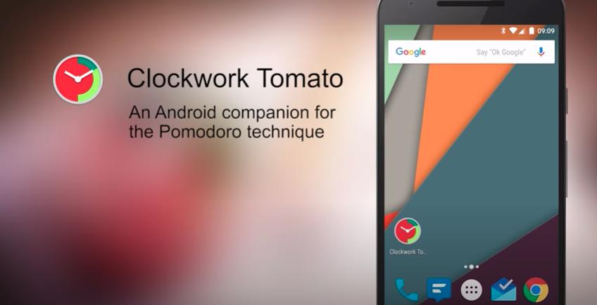 Clockwork Tomato: An Android companion for the Pomodoro Technique
