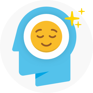 Well-being check-in illustration